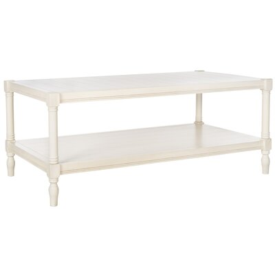 Bonnie Coffee Table Color: Off-White