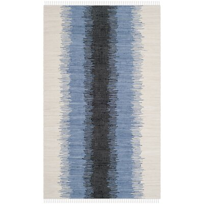 Ona Hand-Woven Cotton Area Rug Rug Size: Rectangle 4 x 6