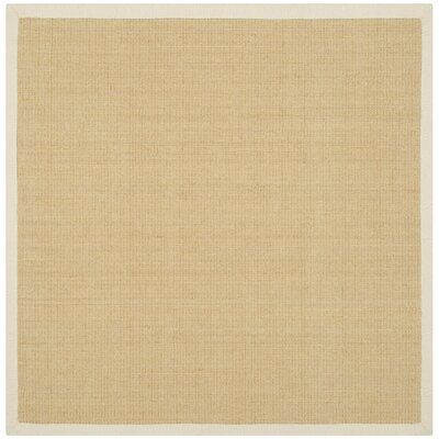 Boxrah Beige Area Rug Rug Size: Square 4