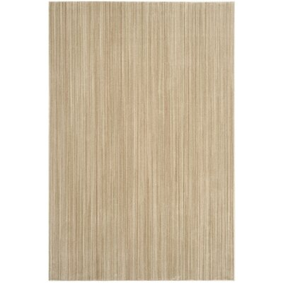 Infinity Beige/Green Area Rug Rug Size: Rectangle 8 x 10