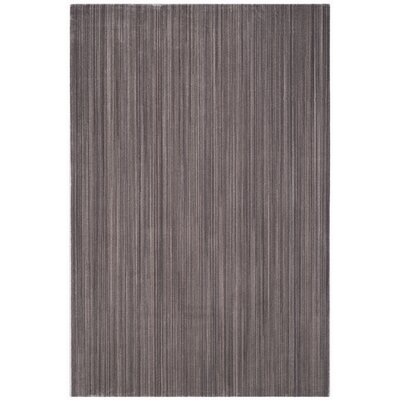 Infinity Dark Grey Area Rug Rug Size: Rectangle 4 x 6