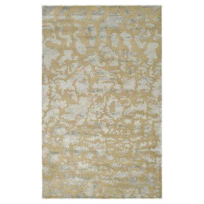 Soho Hand-Tufted Wool Taupe Area Rug Rug Size: Rectangle 36 x 56