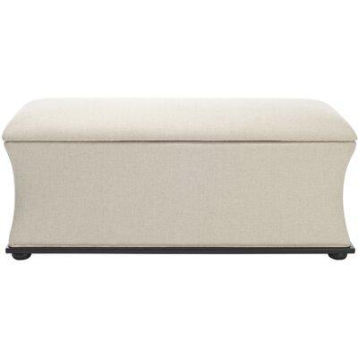 Aroura Storage Ottoman Upholstery: Beige