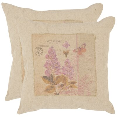 Joey Linen Throw Pillow Size: 22