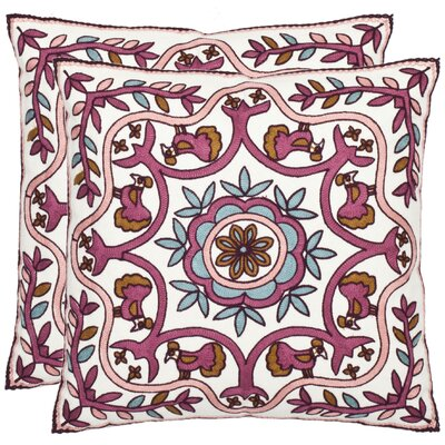 Willow Cotton Throw Pillow