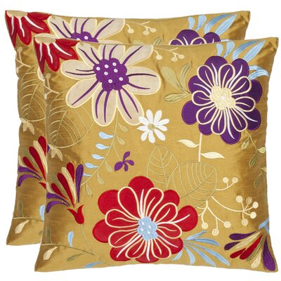 Sakura Garden Throw Pillow