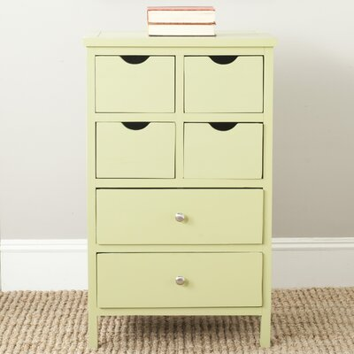 Lilly 6 Drawer Lingerie Chest Finish: Avocado Green