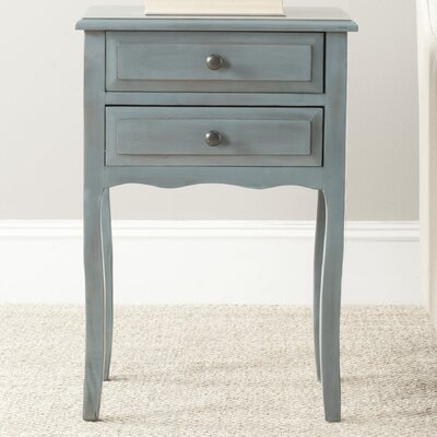 Colin 2 Drawer Nightstand Finish: White image