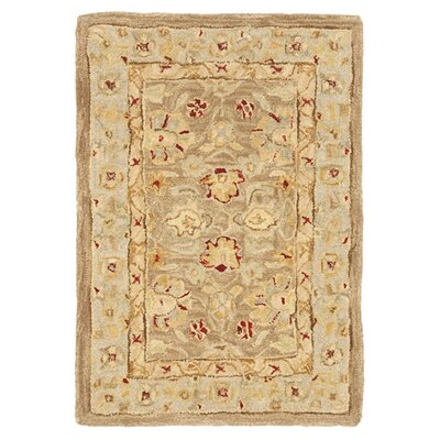 Anatolia Tan/Ivory Rug Rug Size: 3' x 5' image