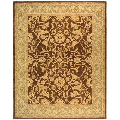Anatolia Brown/Tan Area Rug Rug Size: Rectangle 96 x 136