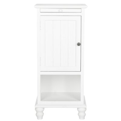 Jezabel End Table Color: White
