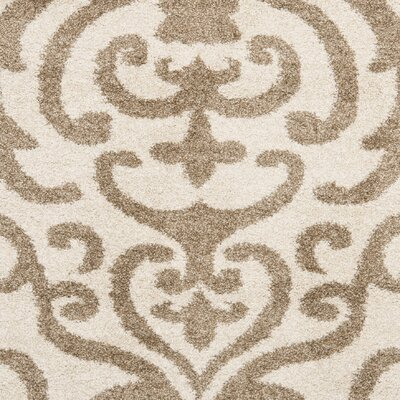 Hall Brown/Beige Area Rug Rug Size: Square 67