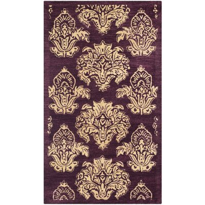 Metro Floral Rug Rug Size: Rectangle 6 x 9