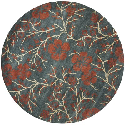 Metro Floral Rug Rug Size: Rectangle 4 x 6