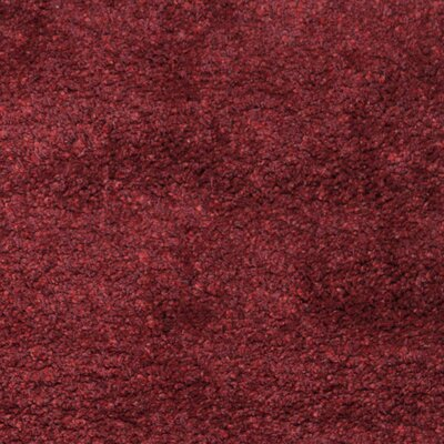 Aranda Flokati Maroon Area Rug Rug Size: Rectangle 3 x 5