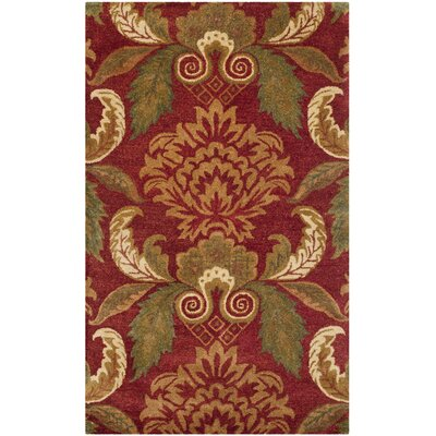 Metro Floral Rug Rug Size: 6 x 9