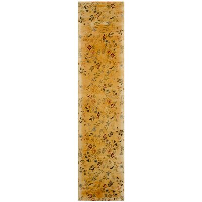 Metro Yellow Rug Rug Size: Rectangle 3 x 5