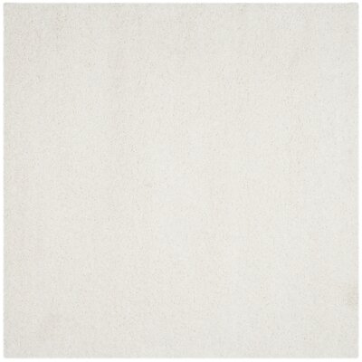 Starr Hill White Area Rug Rug Size: Square 4