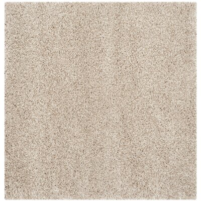 Rowen Beige Area Rug Rug Size: Square 67