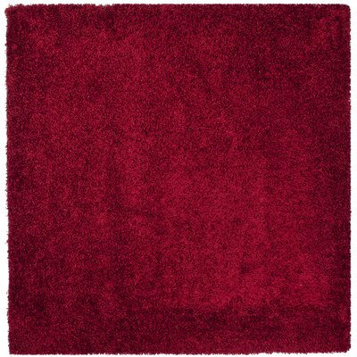 Starr Hill Red Area Rug Rug Size: Square 7