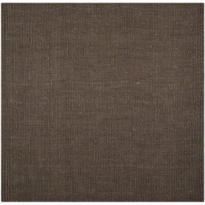 Cavanaugh Brown Area Rug Rug Size: Square 8