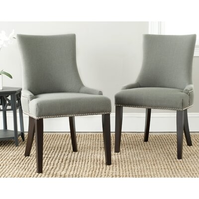 Carraway Upholstered Dining Chair Upholstery Color: Fabric Granite