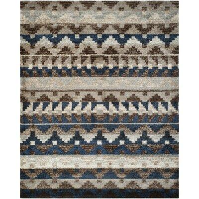 Tahoe Beige / Grey Geometric Rug Rug Size: Rectangle 51 x 76
