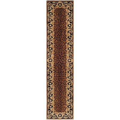 Naples Brown Area Rug Rug Size: Runner 23 x 12