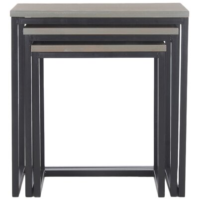 Kaleb 3 Piece Nesting Table Set