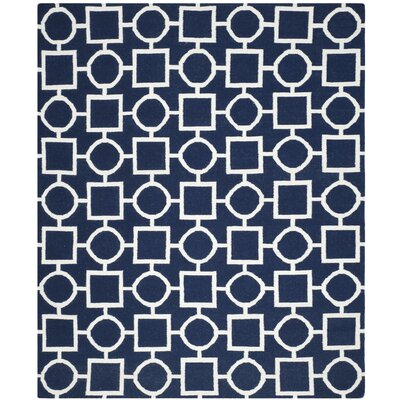 Dhurries Area Rug Rug Size: Rectangle 8 x 10