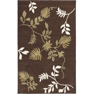 Soho Brown Area Rug Rug Size: Rectangle 5' x 8'