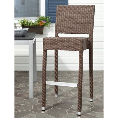 Bethel 29.5 Bar Stool Frame Finish: Brown