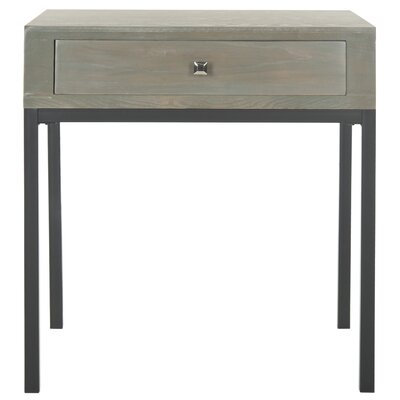 Adena End Table Color: French Grey