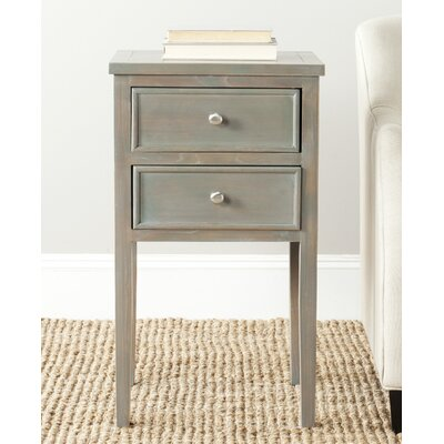 Toby End Table Finish: French Grey