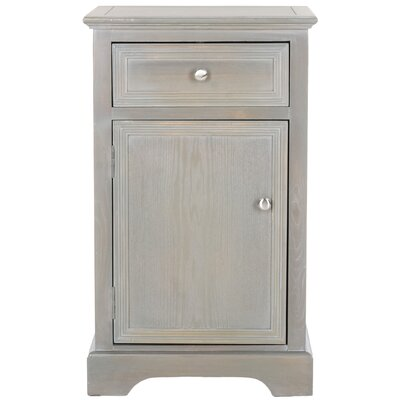 Jarome End Table Finish: French Grey