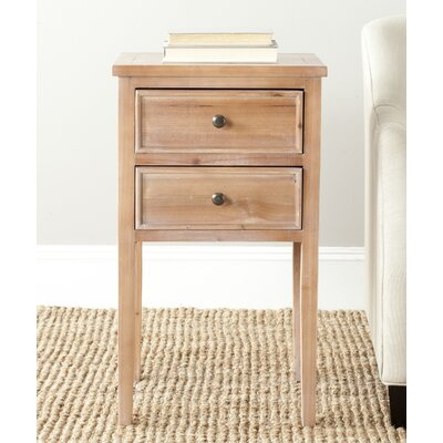 Toby End Table Finish: Red Maple