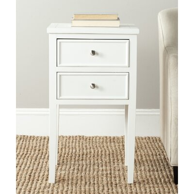 Erion End Table Color: Eggshell