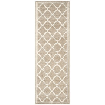 Dunning Wheat Area Rug Rug Size: Runner 23 x 17