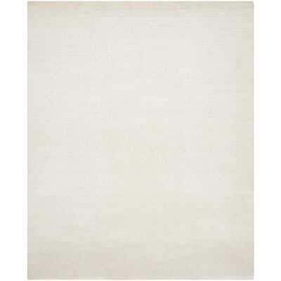 Flanigan Ivory Area Rug Rug Size: Rectangle 9 x 12