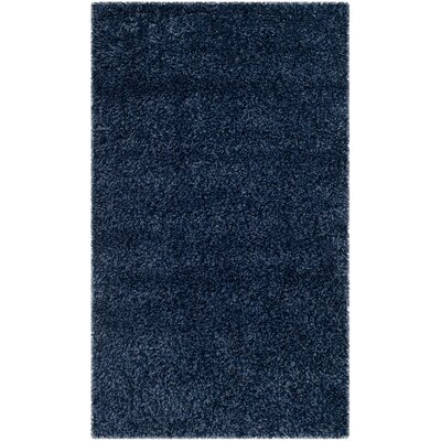 Starr Hill Navy Area Rug Rug Size: Rectangle 11 x 15
