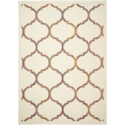 Havana Natural Area Rug Rug Size: Rectangle 51 x 77