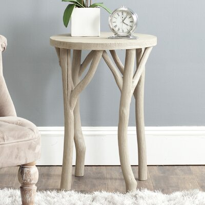 Calvin End Table Finish: Pearl Taupe