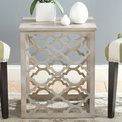 Lonny End Table Finish: Grey