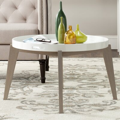 Echo End Table Finish: White / Grey