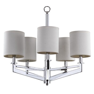 Axis 5-Light Shaded Chandelier