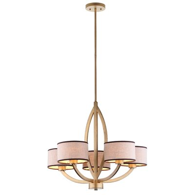 Talia 5-Light Drum Chandelier