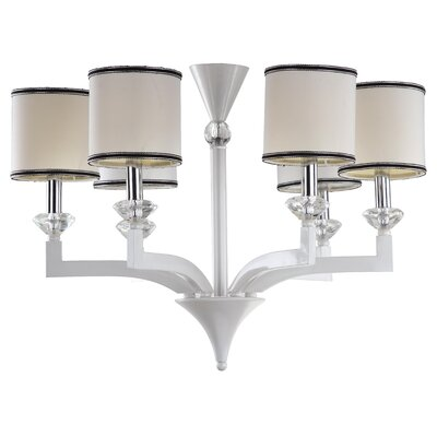 Erin 6-Light Shaded Chandelier