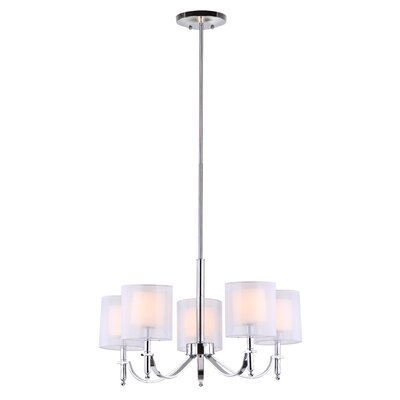 Mika 5-Light Shaded Chandelier