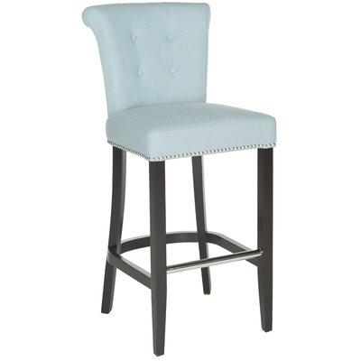 Addo Ring 29.7 inch Bar Stool Upholstery: Sky Blue