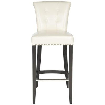 Addo Ring 29.7 Bar Stool Upholstery: Flat Cream